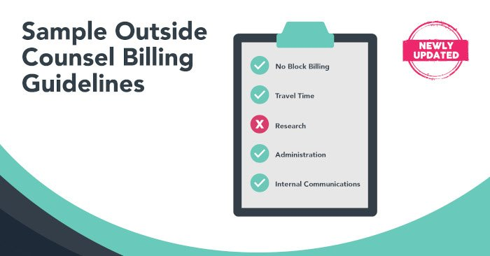 Updated Outside Counsel Billing Guidelines2